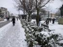 Совсем как дома,в Украине!Рад как ребёнок!9 лет невидел настоящего снега.