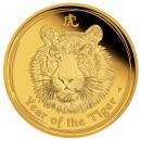 Монета Год Тигра (золото)