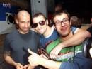 Справа - КРИС ЛИБИН (всемирно известный техно Dj), я и слева Лёня, мой новый товарисч :)
