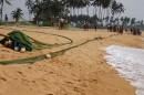 Шри Ланка рыбалка всей деревней.