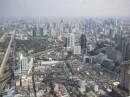 Бангкок с высоты птичьего полета(с отеля Байок-Ская)