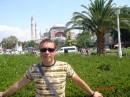 Айя-София.В бывшем Константинополе-бывшый христианский храм.