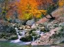 Большой каньон Крыма осенью
