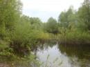 Весенний разлив реки Десна.