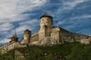 Фото старого замка в Каменце Подольском. Снято в апреле 2009.