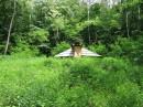 Живописный домик(в форме летающей тарелки) в  Музее Пирогово