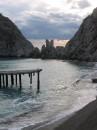 Скала Лебедь в Симеизе, Крым