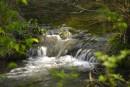Фото сделано в Чернореченском Каньоне на реке Черная