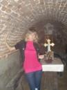 Подземное убежище монахов находится в Краснокутском дендропарке.