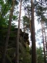 Неподалік від міста Яремча (Івано-Фанківсьа обл.), вище за течією ріки Прут, на правому схилі долини серед лісу знаходиться група скель-стрімчаків висотою до 20м. З цими скелями пов'язується ім'я керівника селянських повстанців Олекси Довбуша, який, за народним переказам, деякий час переховувався тут.