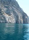 Вид с води на скалу