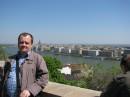 В Будапеште,  за спиной Дунай