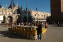 Каорле и Венеция. Утро на площади