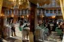 Каорле и Венеция. Кафе на площади