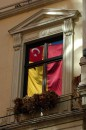 Стамбул. Флаг в окне