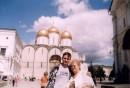 Мы с Мамулей в кремле