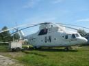 Вертоліт Мі-26 із символікою миротворчих сил ООН