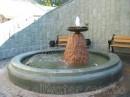 Фонтаны Киева. Строительство фонтана возле Дома с Химерами.