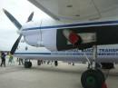Правий двигун Ан-26 суміщений із шасі