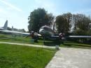 Літак полярної авіації Іл-14. Вигляд спереду