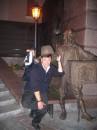 может шляпа папы Карло принесёт счастье :)