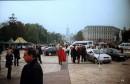 Богатыри на Михайловской площади