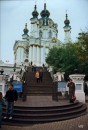 Вход в Андреевскую церковь