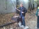 Мясо на шампуре было моим) никто не посмел его в меня отнять))
