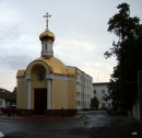 Церковь на территории Областного УВД