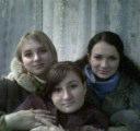 Ирка,я и Женька.Мои лучшие подруги!