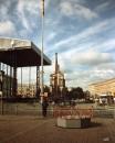 Сцена на Майдане после концерта Пола Маккартни