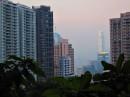 Гонконг - на склонах пика Виктории.