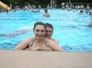 Решили отметить День рождение нашей американской подруги Ненси, и поэтому поехали все вместе в бассейн.. а после, посетили китайский ресторан:))