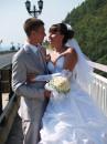 Фотосессия прошла на самом высоком мосте в России.