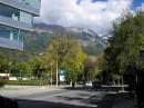 Инсбрук, Австрия (окраина города, современный квартал)