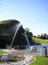 """ну а это \""""музей хрусталя Сваровски\"""" в городе Ваттенс, Австрия"""