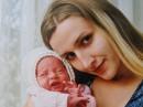 Выписка моей дочери и внучки из роддома
