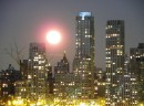 Полнолуние над Нью-Йорком
