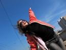 На улицу Строителей весна пришла стремительно ))