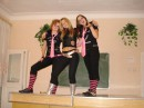 on top of teachers table)) we're good))