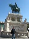 2011 - Венгрия - Будапешт - Памятник Святому Иштвану I