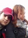 я з Лисичкою (біля моря)