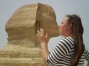 Поцелуй со Сфинксом в Египте