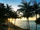 Закат на Варадеро. Куба. Отель Мелиа. Пляж