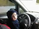 Папину машину осваиваю с первого дня рождения