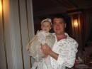 с племянницой