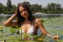 На острове среди лилий