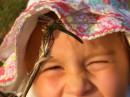 Жаркое лето. Стрекозы отдыхают на веточках и даже охотно садятся на палец ребенку - лишь бы не беспокоили.