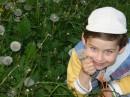 прогулка с детьми в парке Славы