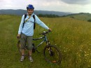 Вело прогулянка по Карпатським горам, за 7 кілометрів від Польського кордону.